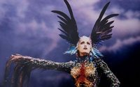 Thierry Mugler's first retrospective set for Montreal, then Rotterdam