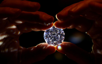 'Rarest white diamond ever' to be sold in London