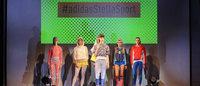 アディダス×ステラ・マッカートニー「StellaSport」 トランポリンとコラボしたショー開催