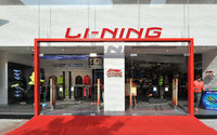 China's Li Ning profit falls 20 pct, beats forecast