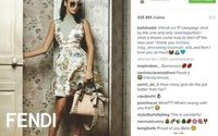 Fendi fait de Bella Hadid la star de sa campagne printemps-été 2017