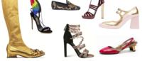 Natale 2015: oro, piume e pelliccia, le scarpe si conciano per le feste