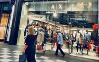 Armani Exchange opens first store outside London