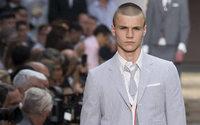 Thom Browne dévoile sa haute couture pour homme