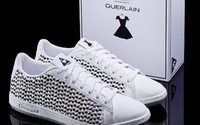 Guerlain signs sneakers in collaboration with Le Coq Sportif