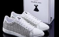 Guerlain e Le Coq Sportif se unem para criar par de tênis exclusivo