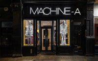 A Londres, Tomorrow prend le contrôle du concept-store Machine-A