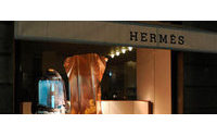 Hermes lifts full-year sales target after strong H1