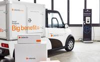 Zalando liefert Pakete in Hamburg mit E-Autos