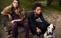 Cara Taylor and Lineisy Montero get festive for Mango