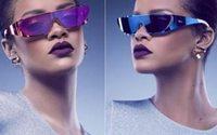 Rihanna mette gli occhiali per Dior, sua la nuova collezione