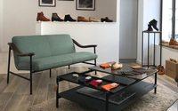 Le Soulor propose ses chaussures dans une agence immobilière à Biarritz