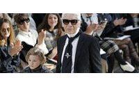 Karl Lagerfeld crée une palette de crayons pour Faber-Castell