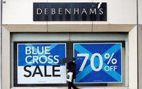 Debenhams not actively pursuing major store restructuring
