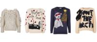 Grifes criam suéteres natalinos para leilão
