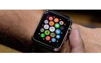 Nagelprobe für Computer-Uhren mit Start der Apple Watch