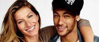 Neymar e Gisele Bündchen, duas estrelas unidas por um país