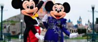 Minnie Mouse forsakes trademark dots for Lanvin gowns