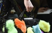 Jeremy Scott brings neon fur to latest Longchamp collab