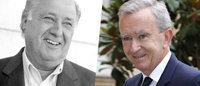 Ortega (Zara) e Arnault (LVMH) primeiras fortunas da Europa