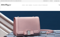 Salvatore Ferragamo's revamped website now live in Europe and China