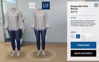 Gap lança aplicação de realidade aumentada para atrair clientes