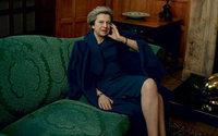 Theresa May posa para a Vogue americana