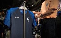 Mondial 2018 : les ventes de maillots de l'équipe de France battent des records