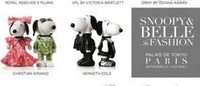 Snoopy and Belle get a makeover for Paris Fashion Week