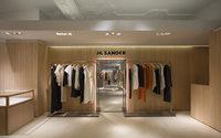 Jil Sander opens Harrods shop-in-shop
