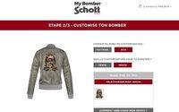 Schott propose ses bombers à la personnalisation