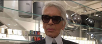'The Kaiser' Lagerfeld backs Hillary Clinton