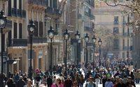 Portal de l'Àngel de Barcelona y Preciados de Madrid, las calles comerciales más caras