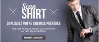 """Saint Sens lance son """"Scan-Shirt"""" pour des chemises sur-mesure en un clic"""