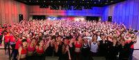 女性1,300人が渋谷でトレーニング、「ナイキ」がワークアウトイベント開催