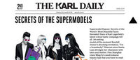 Karl Lagerfeld lance la seconde édition du Karl Daily