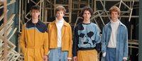 El diseñador David Catalán presenta su colección en Callaghan de Logroño