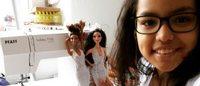 Uma pequena designer de 12 anos cativa um estilista da Dior com seu Instagram