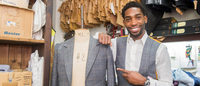 Museum of London creates tweed suit for London Collections: Men