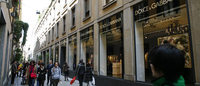 Milan enjoys role as luxury shopping capital
