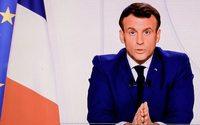 Emmanuel Macron Macron allège le confinement et annonce la réouverture des commerces le 28 novembre
