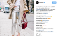 H&M, Topshop, Forever 21 head fashion social media chart