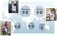 Hessnatur launcht Weltkarte zur Produktionskette