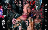 Former detainee Jeremy Meeks strikes a pose for Philipp Plein
