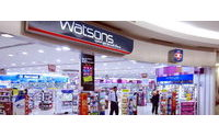 Hutchison Whampoa may list Watsons healthcare unit