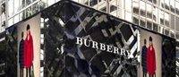 Burberry hit by falling sales in Hong Kong