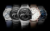 Emporio Armani bringt eine Hybrid  Smartwatch auf den Markt