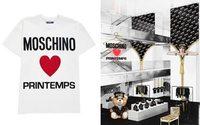 Moschino признается в любви Printemps и Парижу