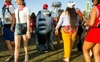 From bondage to flowers, a fashion bonanza at Coachella