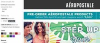 Aeropostale launches online for pan India reach